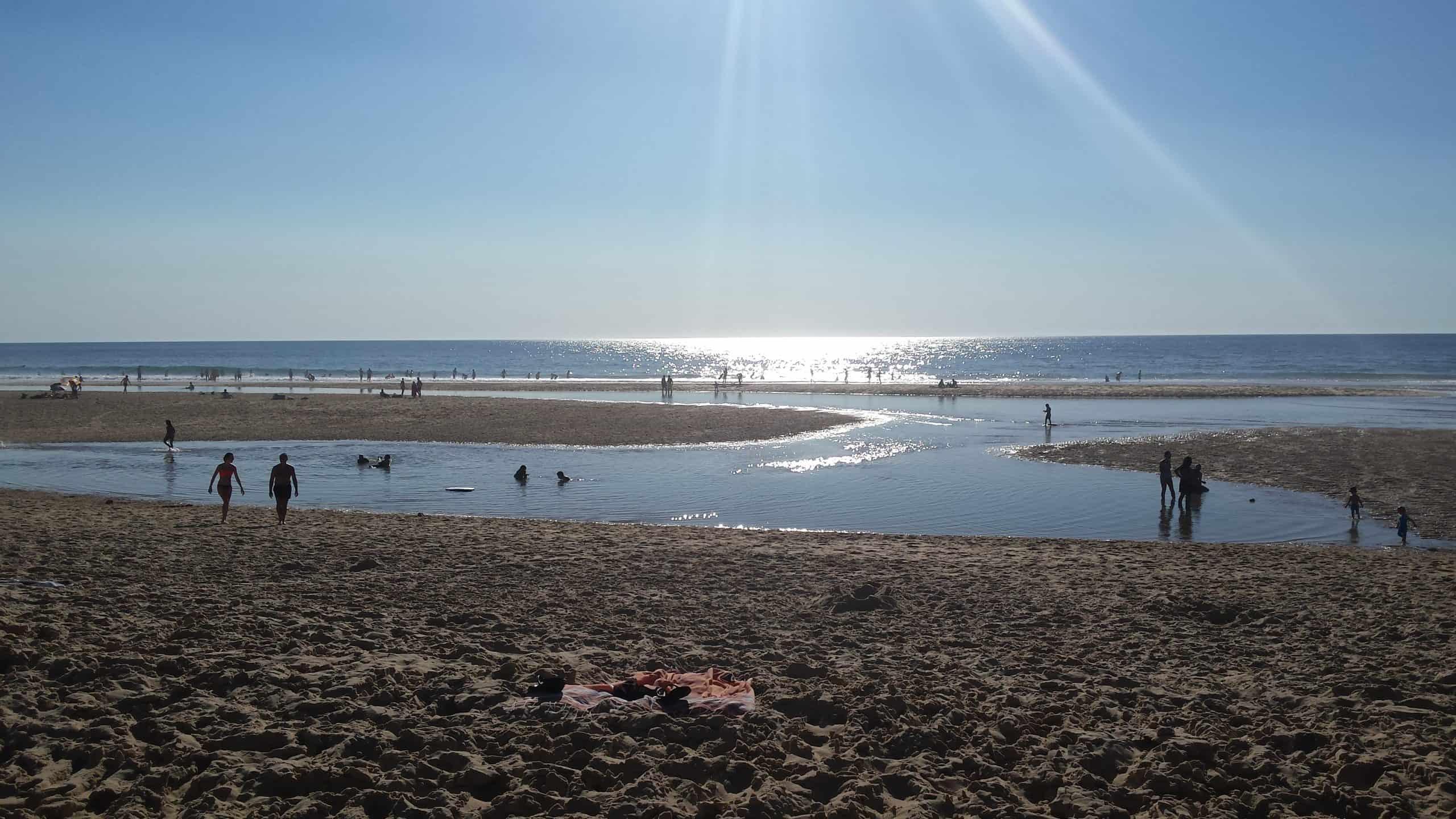location de vacances sur le bassin d'arcachon proche océan surf château sable coquillage skimboard bodyboard